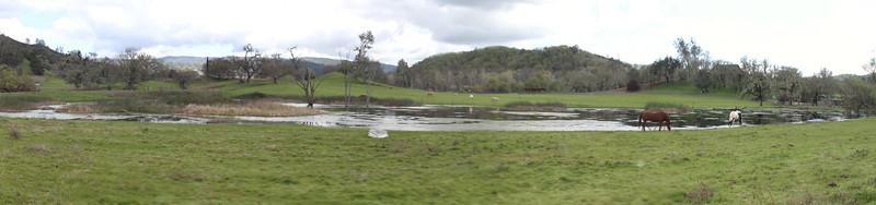 Farm house in california