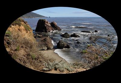 Molera Park, California coast