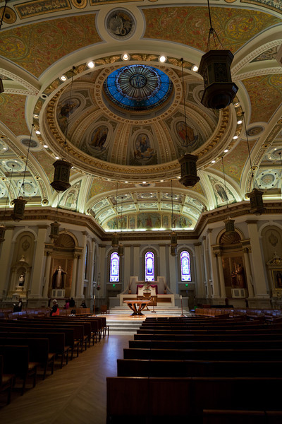 Inside the Cathedral Basilica of St. Joseph - San Jose, CA