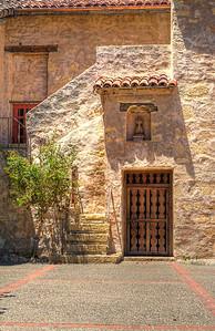 Carmel Mission Side Door