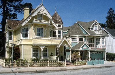 Victorian Houses, Pacific Grove