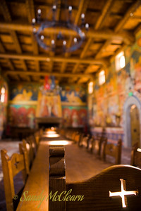 A room in the Castello di Amorosa (Castle of Love) winery in the Napa Valley.