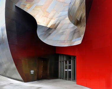 (Gehry's) Music Museum Entrance
