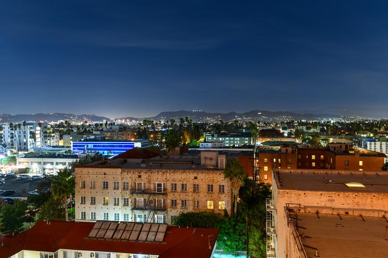 Aerial View Los Angeles, California