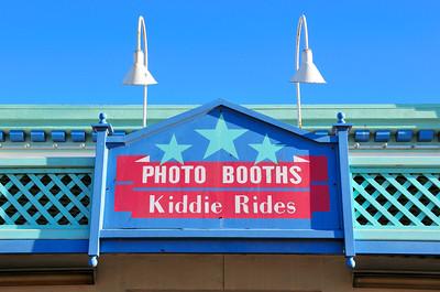 Photo Booths and Kiddie Rides, Santa Monica Pier