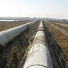 Industrial zone - water pipelinew