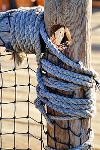 Post and Rope, Santa Monica Pier