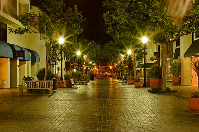 Portola Hotel Courtyard