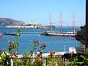 Alcatraz Island taken from Ghiradelli Square, Sep 16, 2006