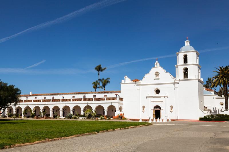 Mission San Luis Rey, Oceanside, CA