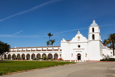 CA-San Diego-Mission San Luis Rey