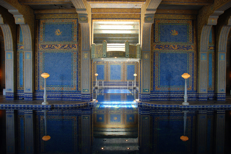 """<span id=""""title"""">Indoor Pool Diving Board </span> Also very tempting to jump in, especially off this diving board."""