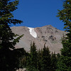 "<span id=""title"">Lassen Peak, Glacier </span> Still snow in August"