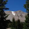 "<span id=""title"">Lassen Peak, Glacier </span> Still snow in August"