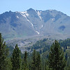 "<span id=""title"">Lassen Peak from the North </span> This is the side that erupted in 1916"
