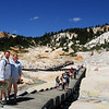 "<span id=""title"">Ann and Jon in Hell </span> Bumpass Hell, that is. It's named after an explorer who had to have his leg amputated after falling through the crust into boiling mud."