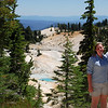 "<span id=""title"">Overlooking Bumpass Hell </span>"