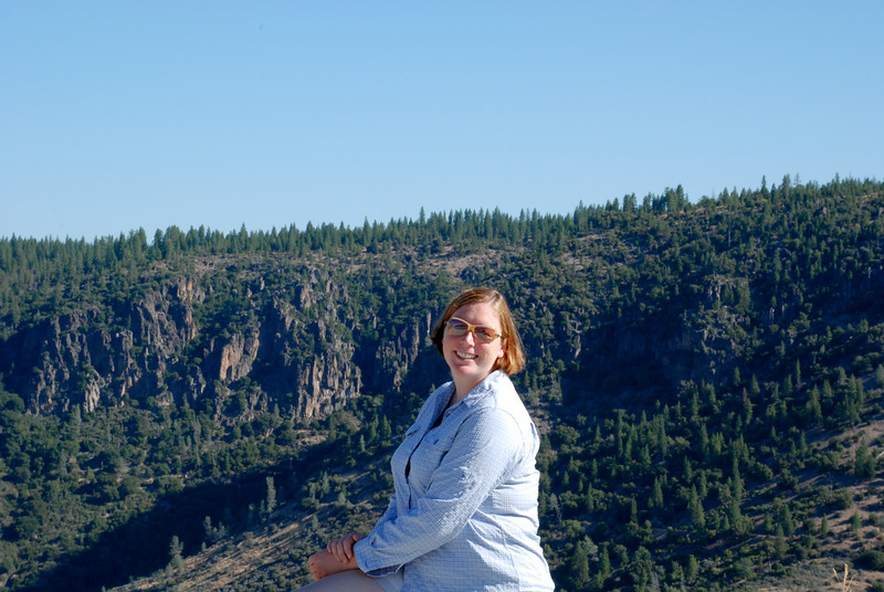 "<span id=""title"">Glamorous Ann </span> Lookout spot on the way to Lassen."