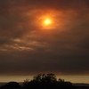 """<span id=""""title"""">Smoke from Zaca Fire </span> Really bad fire that blanketed the central valley in smoke"""
