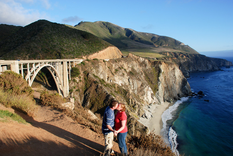 """<span id=""""title"""">Bixby Bridge K-I-S-S-I-N-G </span> Aww, so cute we are."""