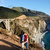 "<span id=""title"">Bixby Bridge K-I-S-S-I-N-G </span> Aww, so cute we are."