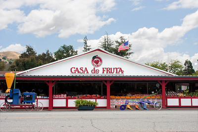 The original Casa de Fruta--a charming fruit stand, with oh so much more as well.