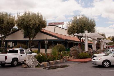 Everything at Casa de Fruta is Casa de Something--like this Casa de Restaurant.
