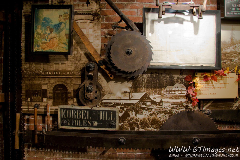 More mill tools at Korbel.