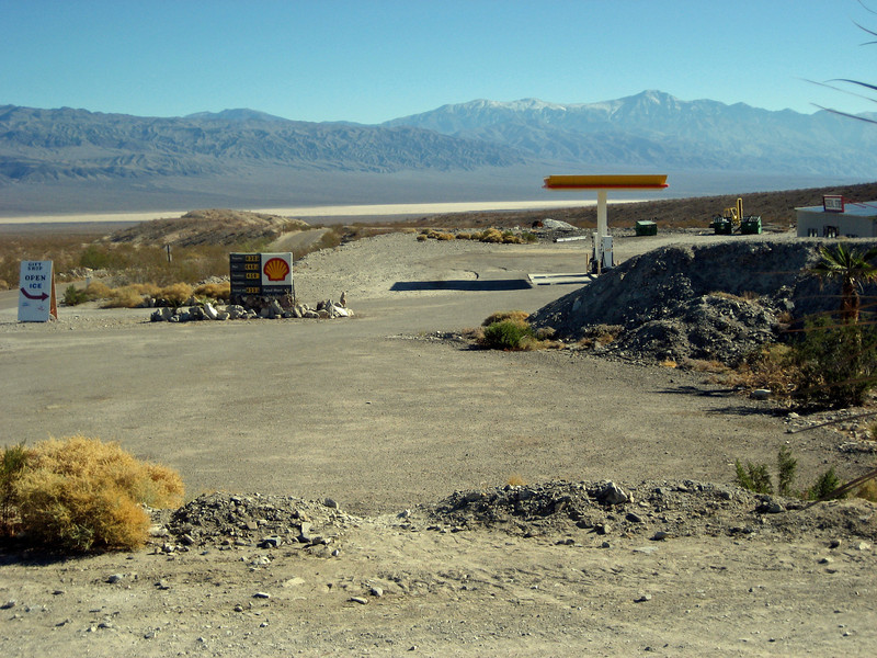 Panamint Valley and Mountains from Panamint Springs