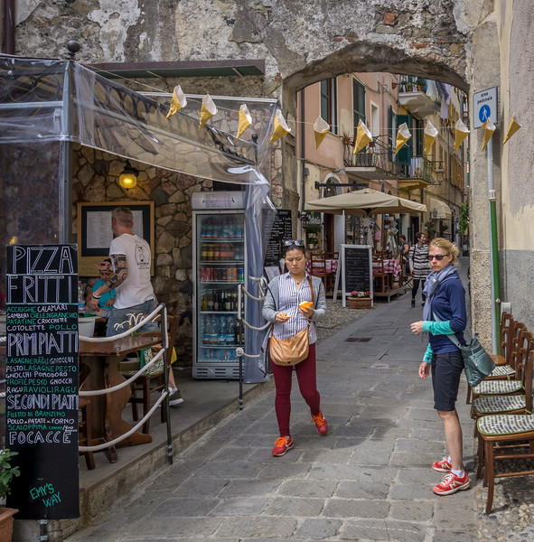 Lunch in Monterosso