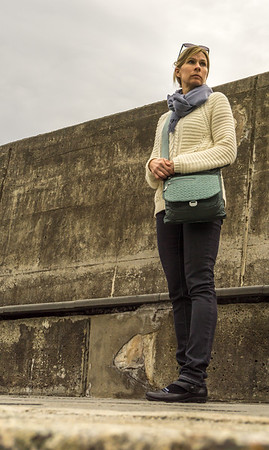 Calla on Sea Wall in Vernazza