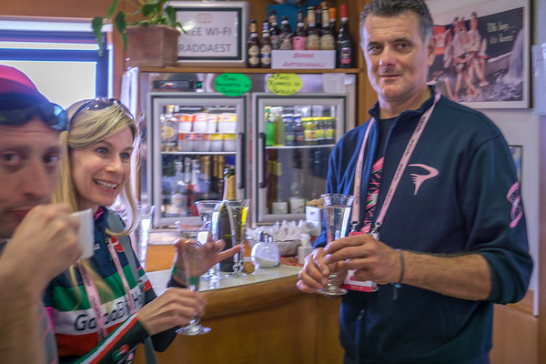A Prosecco toast to the Giro d'Italia with Eros Poli