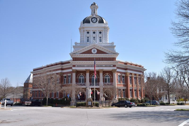 Morgan County Courthouse, Madison, GA.