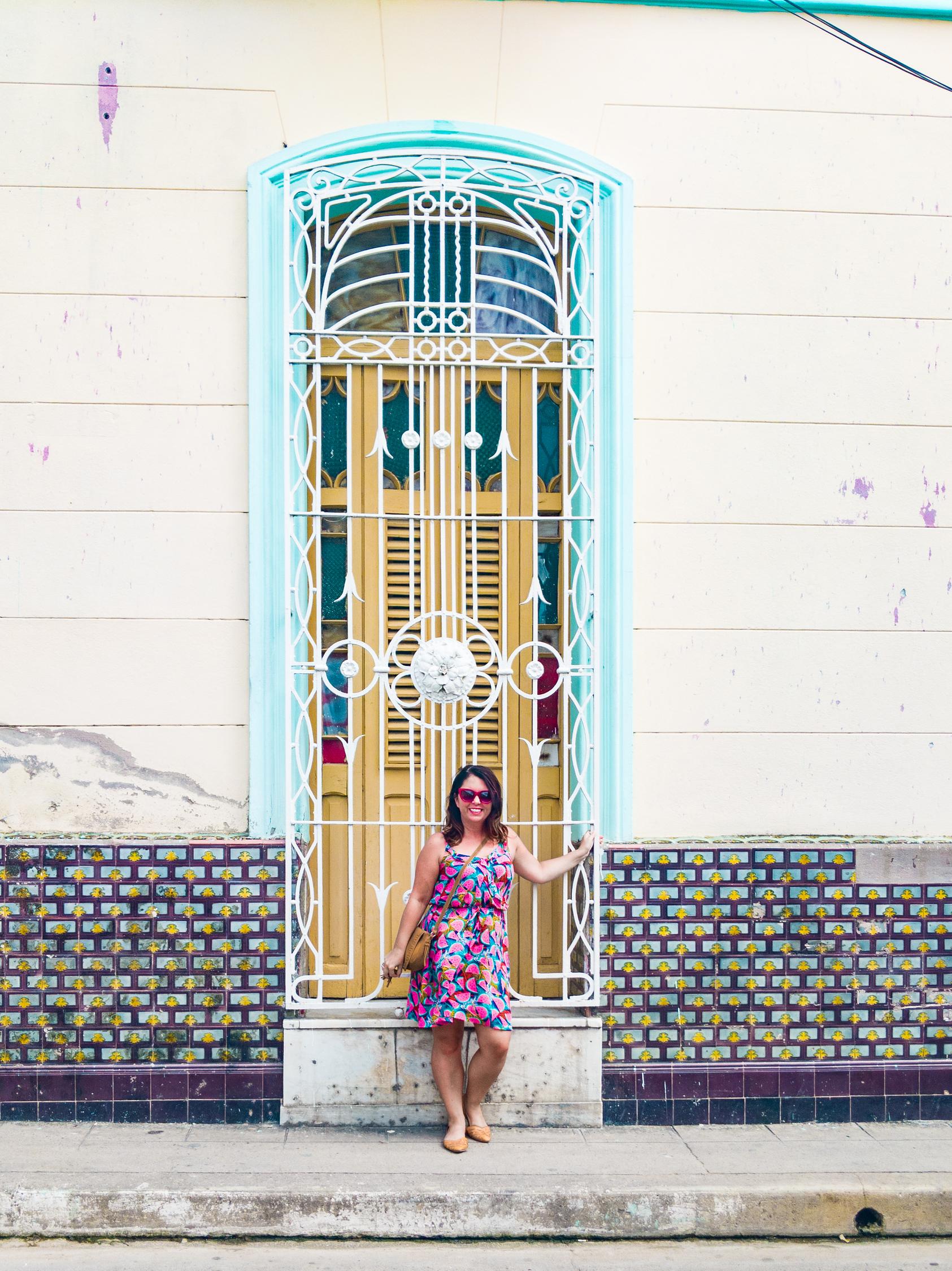 Ayngelina Brogan in Camaguey Cuba