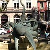 So, our best guess here is that at one time, Sete was a center of octopus/cephalopod fishing. This is by (very) far the largest statue of an octopus we'd ever seen. It's just sitting in this plaza, no explanation of any kind.