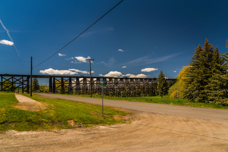The Cottonwood Trestle From the Street