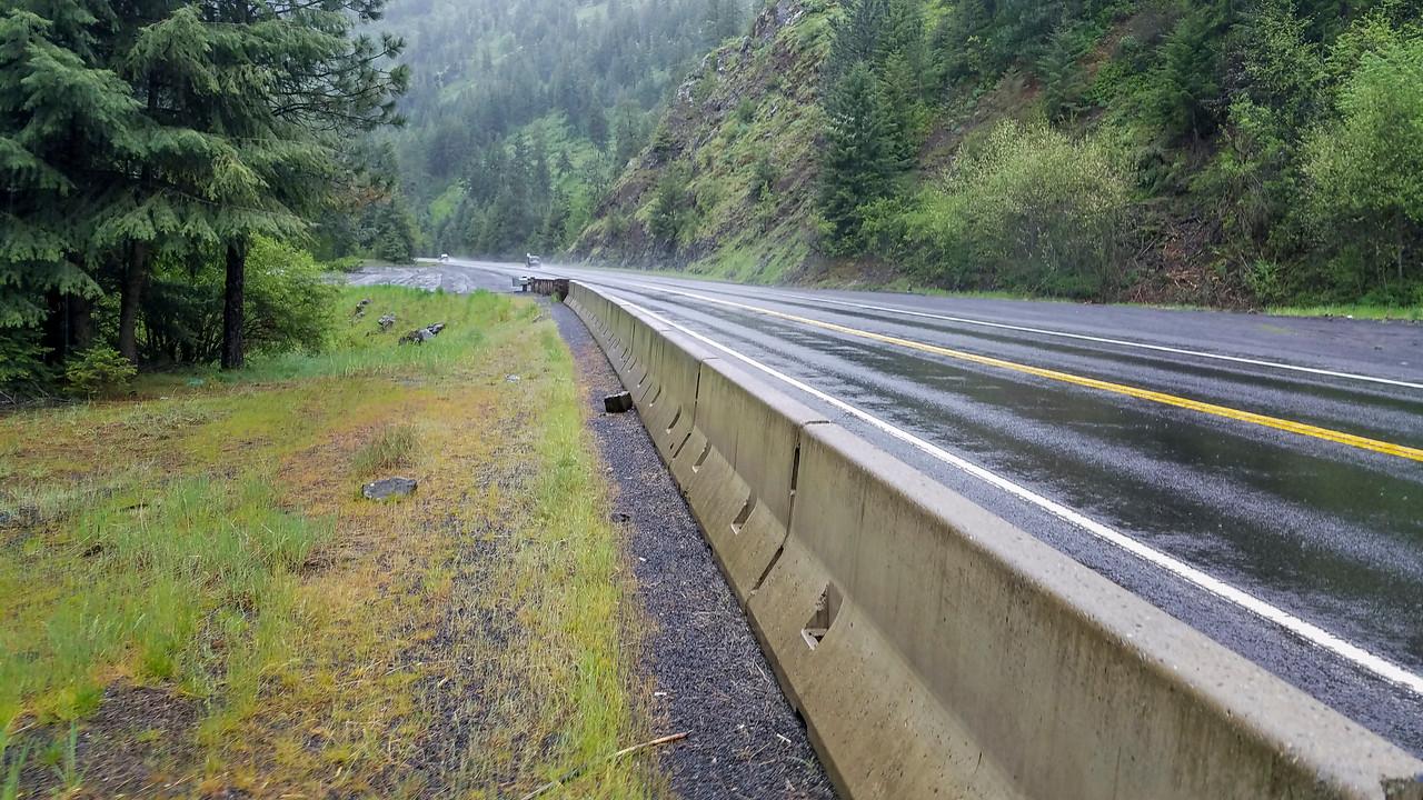 rainy highway 95