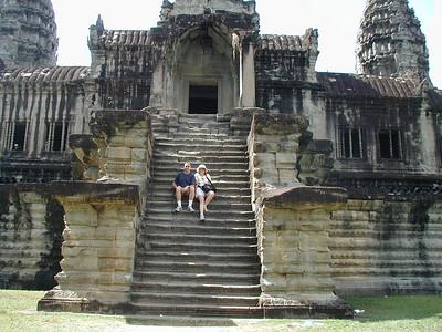 Cambodia 2002 point and shoot camera