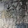 Bas relief at Bayon