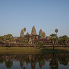 The magnificent temple of Angkor Wat!