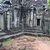 Courtyard at Bantey Kei
