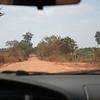 The dusty road to Bantey Srei