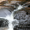 Lingas at Kbal Spean making the Siem Reap river water more sacred