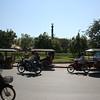 Siem Reap street by the Siem Reap river