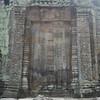 Ornate door at Ta Prohm