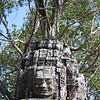 Buddha (or the kings face?) atop a tower at Ta Som