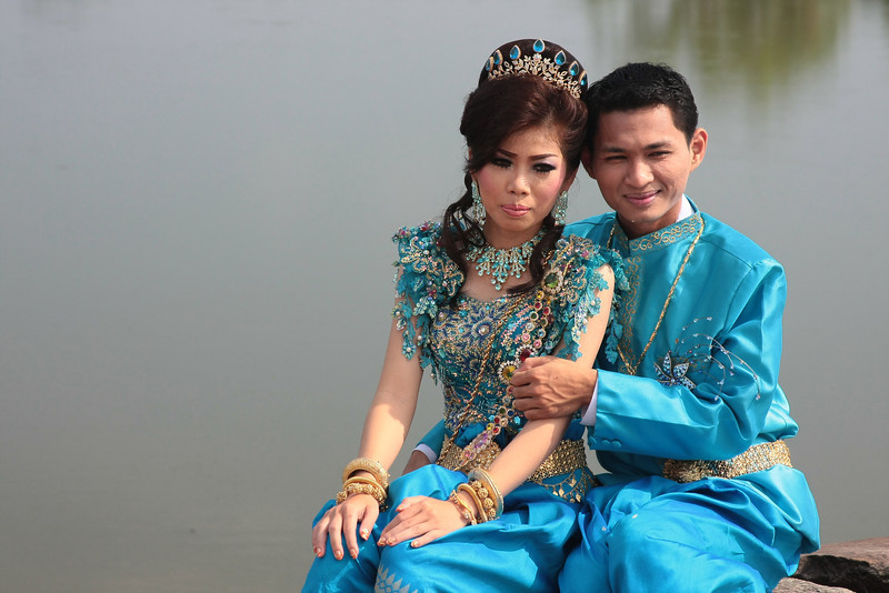 wedding at Angkor Wat