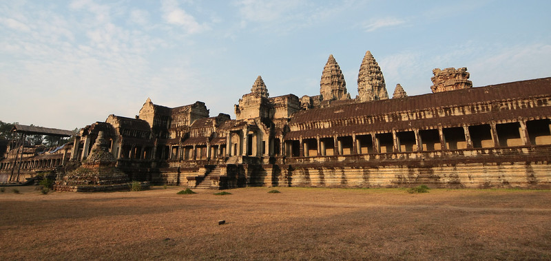 Angkor Wat backside