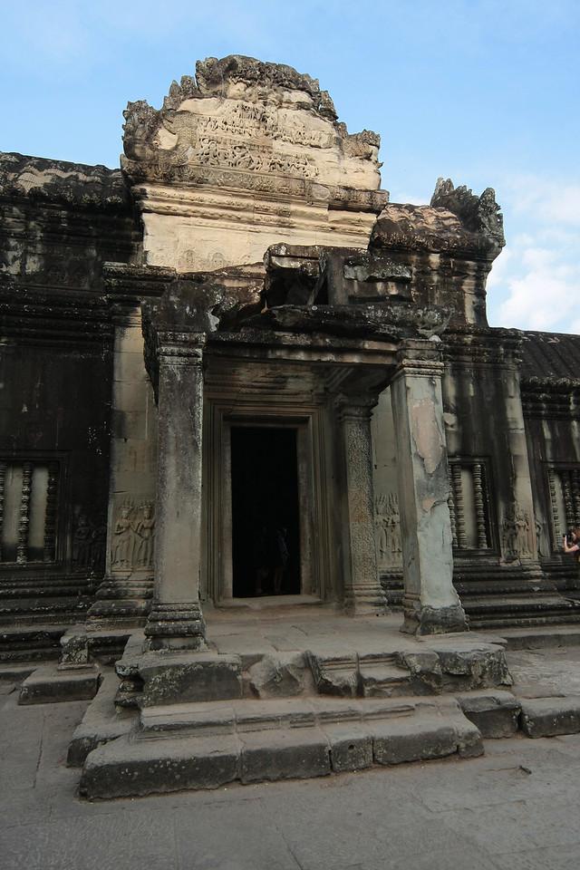 Angkor Wat backside entry