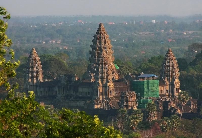 Angkor Wat aerial